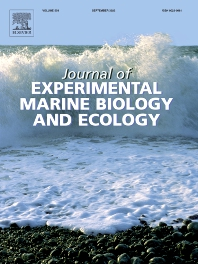 Cover image for Journal of Experimental Marine Biology and Ecology
