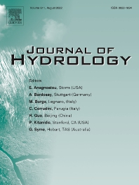 Cover image for Journal of Hydrology