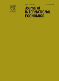 Cover image for Journal of International Economics