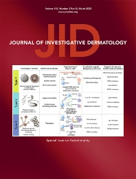 Cover image for Journal of Investigative Dermatology