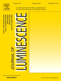 Cover image for Journal of Luminescence