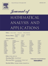 Journal of Mathematical Analysis and Applications - ISSN 0022-247X