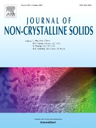 Cover image for Journal of Non-Crystalline Solids