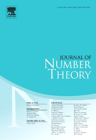Journal of Number Theory - ISSN 0022-314X