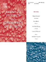 Cover image for Journal of Physics and Chemistry of Solids