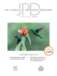 Cover image for Journal of Prosthetic Dentistry
