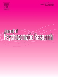 Cover image for Journal of Psychosomatic Research