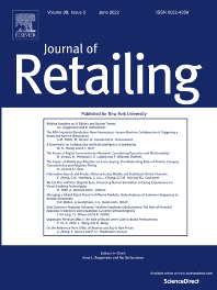 Cover image for Journal of Retailing
