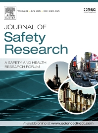 Cover image for Journal of Safety Research