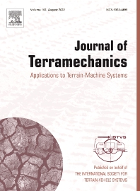 Cover image for Journal of Terramechanics