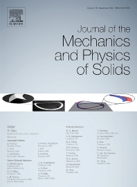 Cover image for Journal of the Mechanics and Physics of Solids