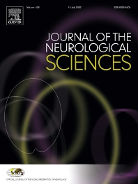 Cover image for Journal of the Neurological Sciences
