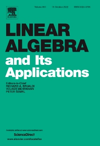 Linear Algebra and its Applications - ISSN 0024-3795