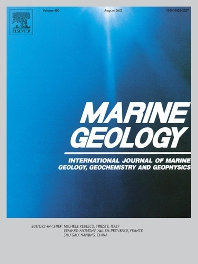 Cover image for Marine Geology