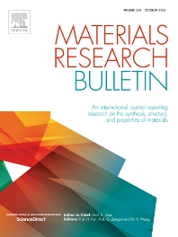 Materials Research Bulletin - ISSN 0025-5408