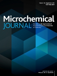 Cover image for Microchemical Journal