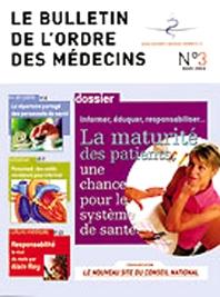 Cover image for Bulletin de l'Ordre des Médecins