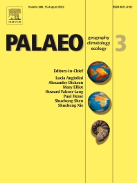 Cover image for Palaeogeography, Palaeoclimatology, Palaeoecology
