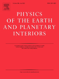 Cover image for Physics of the Earth and Planetary Interiors