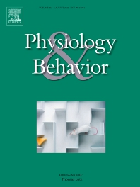 Physiology & Behavior - ISSN 0031-9384