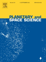 Cover image for Planetary and Space Science