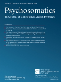 Psychosomatics - ISSN 0033-3182