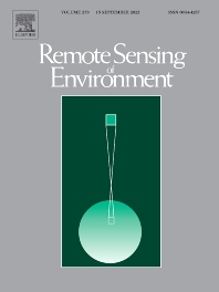 Cover image for Remote Sensing of Environment
