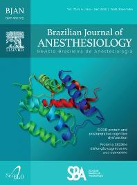 Cover image for Revista Brasileira de Anestesiologia