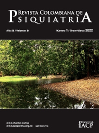 Cover image for Revista Colombiana de Psiquiatría