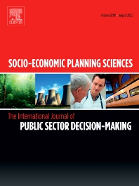 Cover image for Socio-Economic Planning Sciences