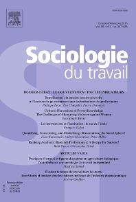 Sociologie du Travail - ISSN 0038-0296