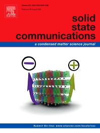 Cover image for Solid State Communications