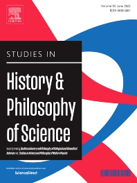 Cover image for Studies in History and Philosophy of Science Part A