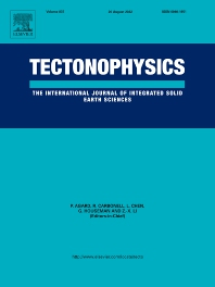 Cover image for Tectonophysics