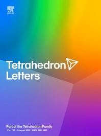 Tetrahedron Letters - ISSN 0040-4039