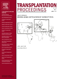 Cover image for Transplantation Proceedings