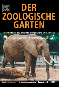 Der Zoologische Garten - ISSN 0044-5169