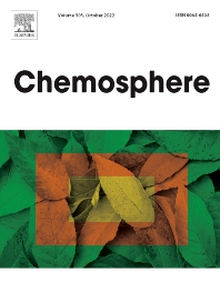 Cover image for Chemosphere