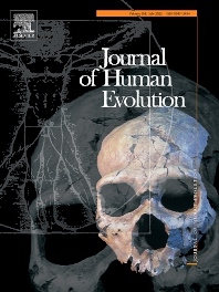 Cover image for Journal of Human Evolution