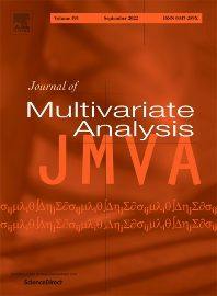Journal of Multivariate Analysis - ISSN 0047-259X