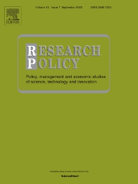 Research Policy - ISSN 0048-7333