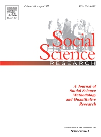 Social Science Research - ISSN 0049-089X