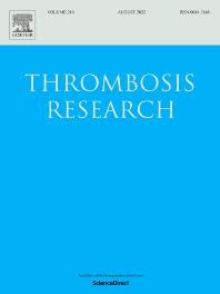 Cover image for Thrombosis Research