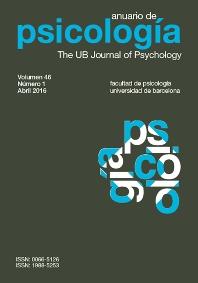 Cover image for Anuario de Psicología