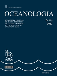 Cover image for Oceanologia