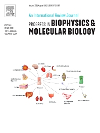 Progress in Biophysics & Molecular Biology - ISSN 0079-6107