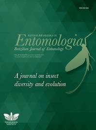 Cover image for Revista Brasileira de Entomologia