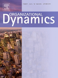 Organizational Dynamics - ISSN 0090-2616