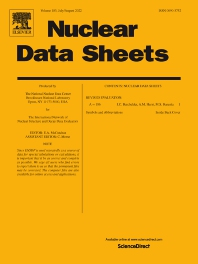 Cover image for Nuclear Data Sheets