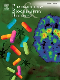 Cover image for Pharmacology Biochemistry and Behavior